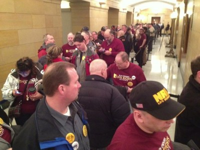 GOCRA supporters flood the capitol for hearings