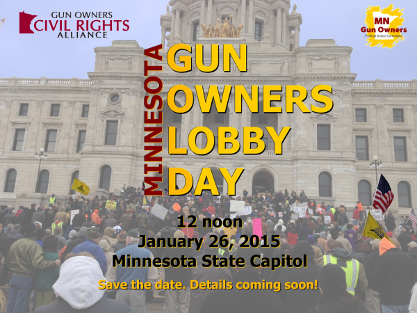 MNGOLD - Minnesota Gun Owners Lobby Day