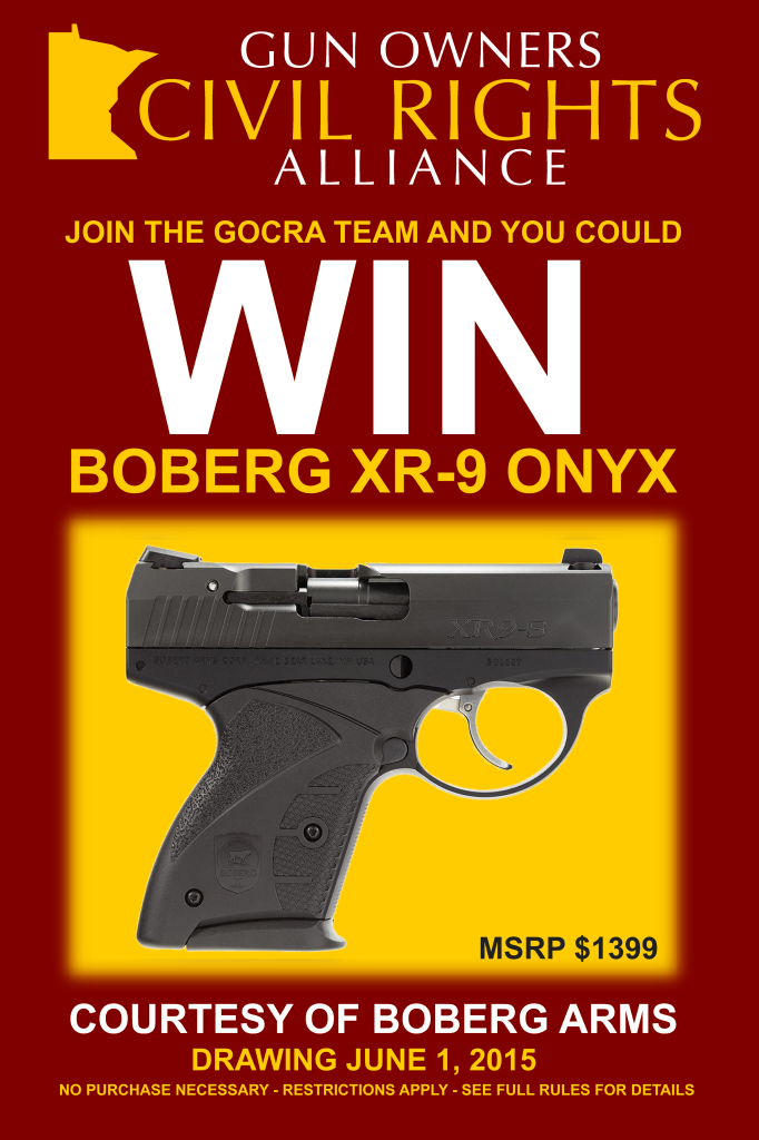 Win this Boberg pistol!