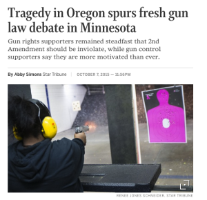 Oregon Tragedy